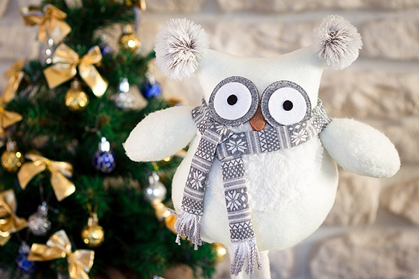 Christmas Toy Owl